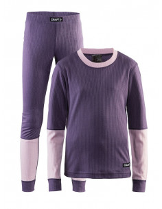 Craft | JR Baselayer set Lila/Rosa |