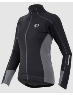 Pearl Izumi | Jacka Elite Pursuit Softshell Dam Svart/Grå |
