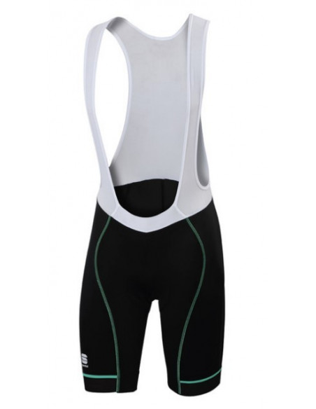 Sportful | Giro Bibshort Black/Green |