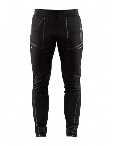 Craft | Sharp 3/4 Zip Pants Svart |