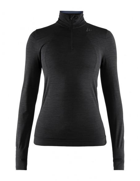 Craft | Fuseknit Comfort Zip Women, Svart |