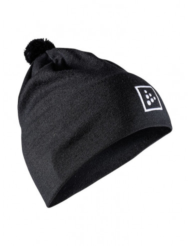 Craft | Practice Knit Hat Black |