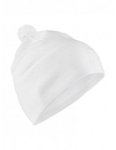 Craft | Practice Knit Hat White |