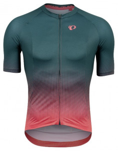 Pearl Izumi | Interval Jersey Pine/Atomic Red Transform |