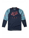 Fox | Youth Defend LS Jersey, Navy |